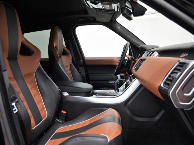 Land rover Range Rover 5.0 V8 SVR 550 Noir occasion à Beaupuy - photo n°4