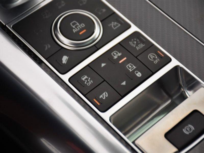 Land rover Range Rover 5.0 V8 SVR 550 Noir occasion à Beaupuy - photo n°7