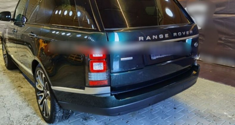 Land rover Range Rover HSE 3.0 TDV6 Vert occasion à Boulogne-Billancourt - photo n°3