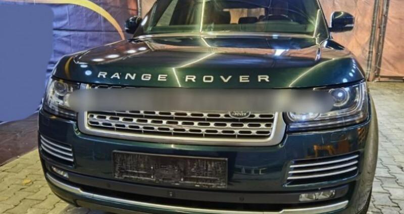 Land rover Range Rover HSE 3.0 TDV6 Vert occasion à Boulogne-Billancourt - photo n°4
