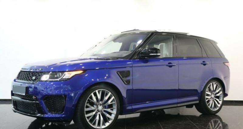 Land rover Range Rover II 5.0 V8 550ch SVR Bleu occasion à Boulogne-Billancourt