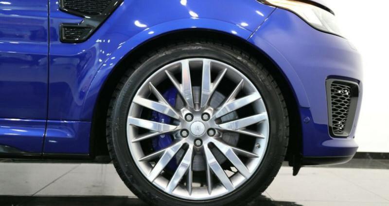 Land rover Range Rover II 5.0 V8 550ch SVR Bleu occasion à Boulogne-Billancourt - photo n°2