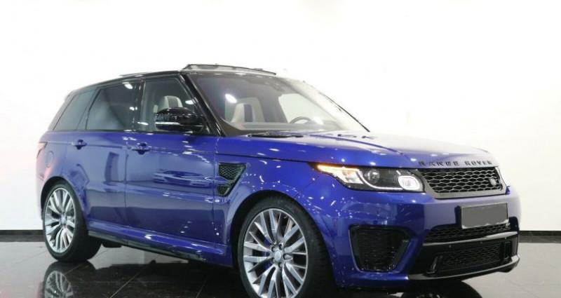 Land rover Range Rover II 5.0 V8 550ch SVR Bleu occasion à Boulogne-Billancourt - photo n°3