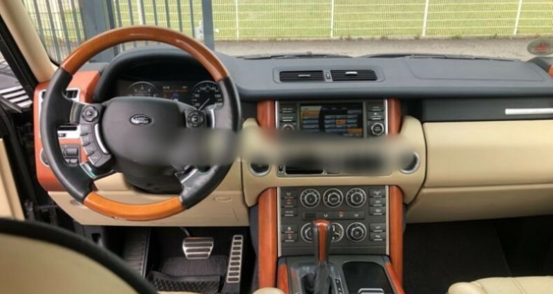 Land rover Range Rover III V8 Supercharged Noir occasion à Boulogne-Billancourt - photo n°3