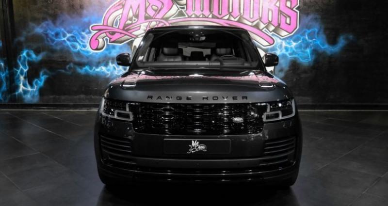 Land rover Range Rover IV (2) 2.0 P400E PHEV SI4 AUTOBIOGRAPHY SWB Gris occasion à CANNES - photo n°2