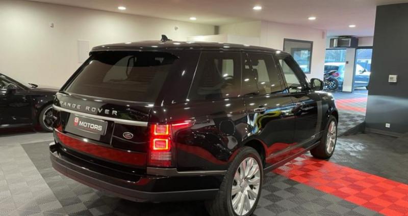 Land rover Range Rover IV 4.4 SDV8 AUTOBIOGRAPHY Noir occasion à Saint Leonard - photo n°4