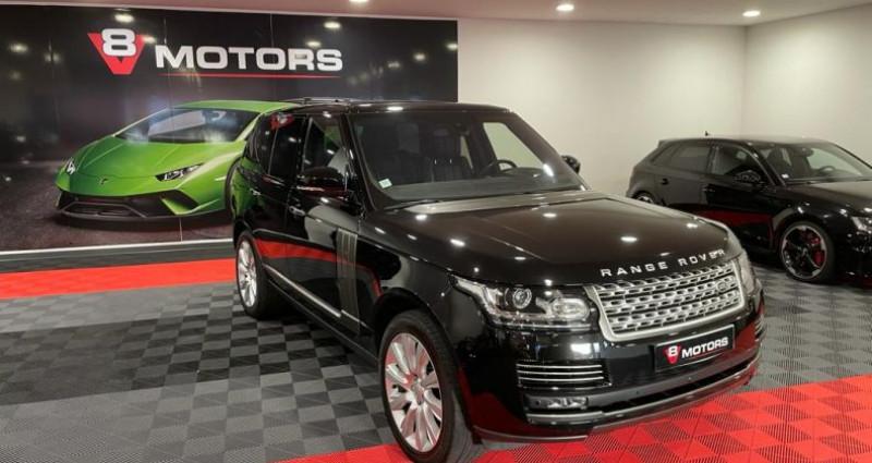 Land rover Range Rover IV 4.4 SDV8 AUTOBIOGRAPHY Noir occasion à Saint Leonard