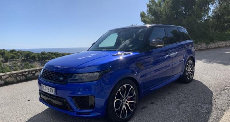 Land rover Range Rover P400E AUTOBIOGRAPHY DYNAMIC Bleu occasion à CASSIS