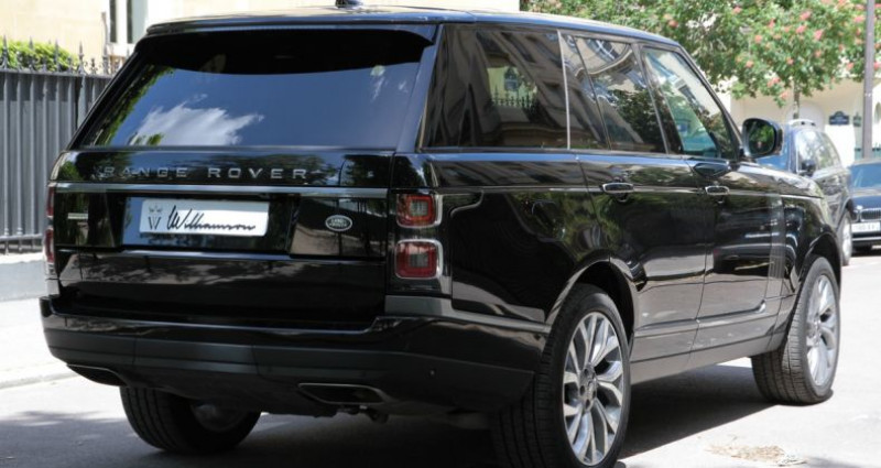Land rover Range Rover p400e autobiography i Noir occasion à Neuilly Sur Seine - photo n°4