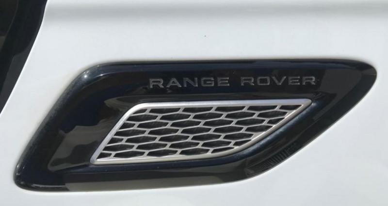 Land rover Range Rover RANGE ROVER SPORT II 3.0 SDV6 306 HSE DYNAMIC AUTO Blanc occasion à MOUANS SARTOUX - photo n°7