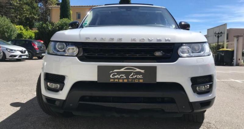 Land rover Range Rover RANGE ROVER SPORT II 3.0 SDV6 306 HSE DYNAMIC AUTO Blanc occasion à MOUANS SARTOUX