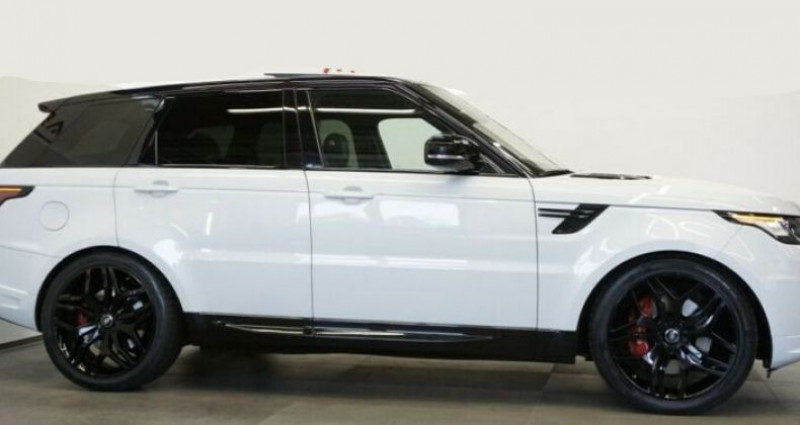 Land rover Range Rover SDV8 Autobiography Blanc occasion à Boulogne-Billancourt - photo n°6
