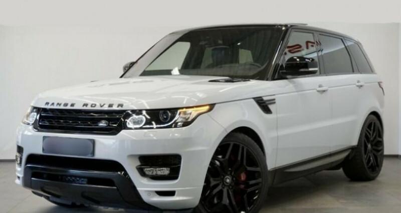 Land rover Range Rover SDV8 Autobiography Blanc occasion à Boulogne-Billancourt