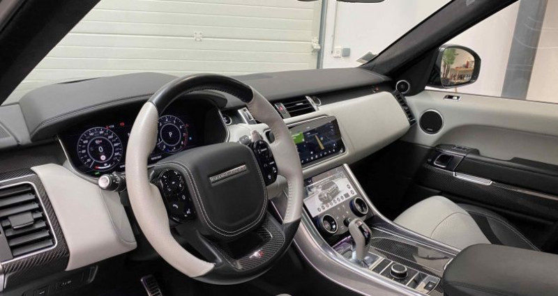 Land rover Range Rover SVR 5.0 V8 575 cv Carbon Edition TVA / FR Gris occasion à Lagord - photo n°7