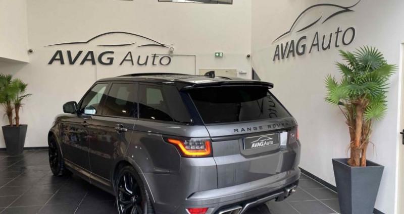 Land rover Range Rover SVR 5.0 V8 575 cv Carbon Edition TVA / FR Gris occasion à Lagord - photo n°6