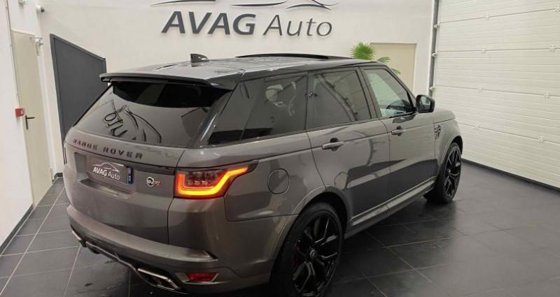 Land rover Range Rover SVR 5.0 V8 575 cv Carbon Edition TVA / FR Gris occasion à Lagord - photo n°5