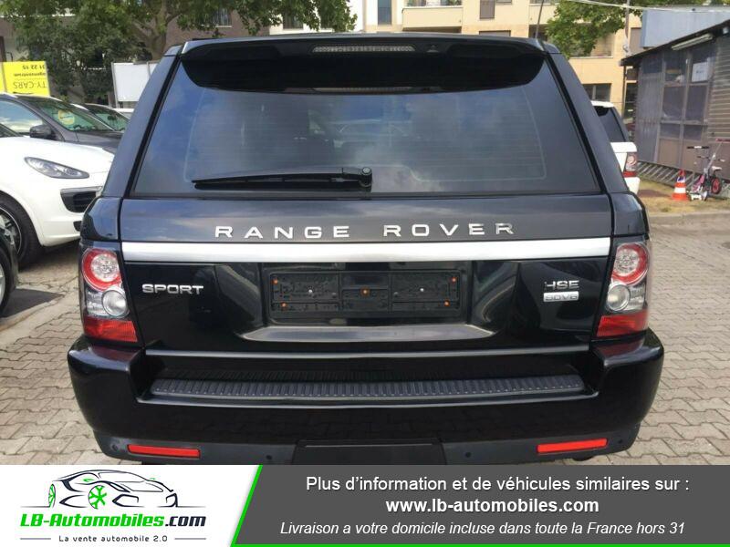 Land rover Range Rover TDV6 3.0L Noir occasion à Beaupuy - photo n°8