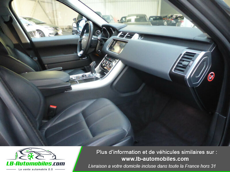 Land rover Range Rover TDV6 3.0L Gris occasion à Beaupuy - photo n°13