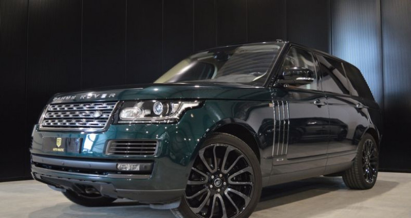 Land rover Range Rover V8 5.0L 550ch SVAutobiography 1 MAIN !! Vert occasion à Lille