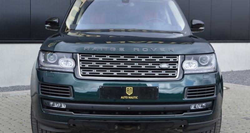 Land rover Range Rover V8 5.0L 550ch SVAutobiography 1 MAIN !! Vert occasion à Lille - photo n°3