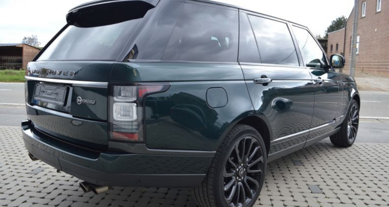 Land rover Range Rover V8 5.0L 550ch SVAutobiography 1 MAIN !! Vert occasion à Lille - photo n°2