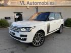 Land rover Range Rover VOGUE 4.4 SDV8 AUTOBIOGRAPHY 340CV SWB Blanc à Colomiers 31