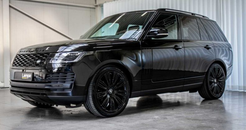 Land rover Range Rover Vogue SDV6 Full Black Pack Trekhaak Privacy Noir occasion à Hooglede - Gits - photo n°4