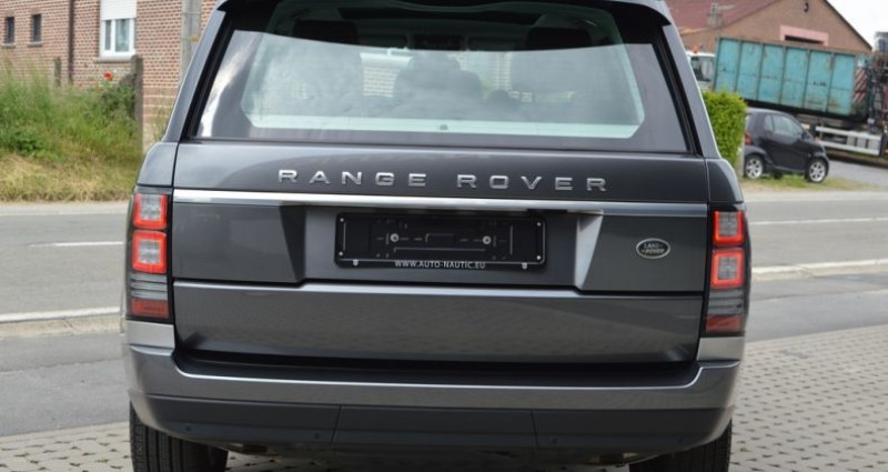 Land rover Range Rover Vogue TDV6 3.0L 258 ch 1 MAIN !! Gris occasion à Lille - photo n°4