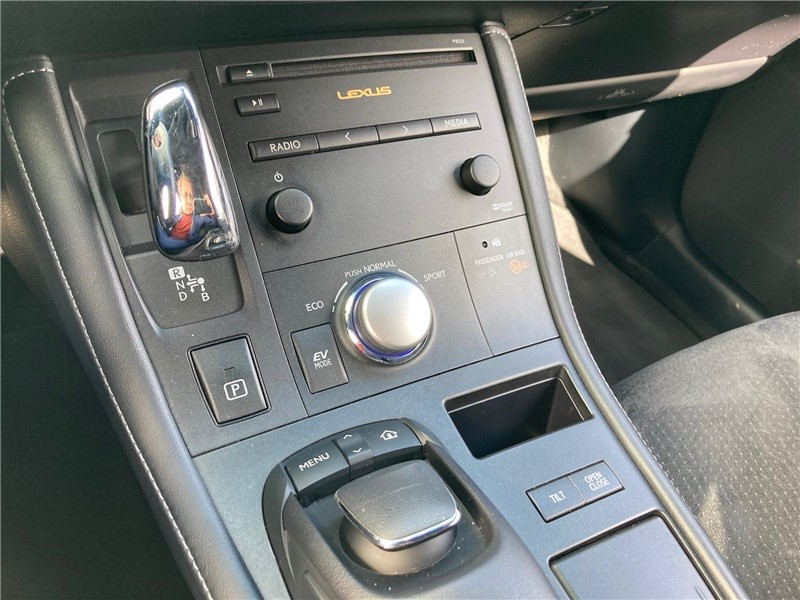 Lexus CT 200H 136 F Sport Blanc occasion à MERIGNAC - photo n°12