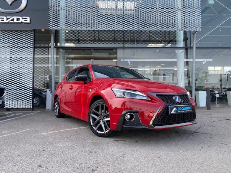 Lexus CT 200h F SPORT Euro6d-T Rouge occasion à Saint-Herblain
