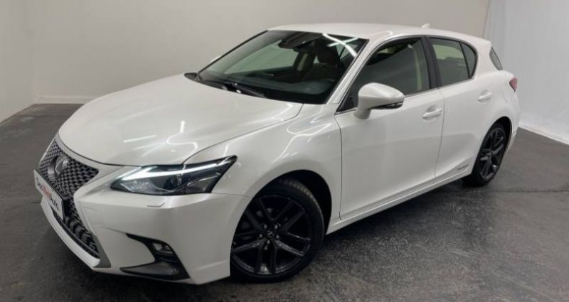 Lexus CT 200h PACK Blanc occasion à AHUY