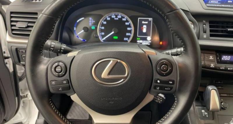 Lexus CT 200h PACK Blanc occasion à AHUY - photo n°5