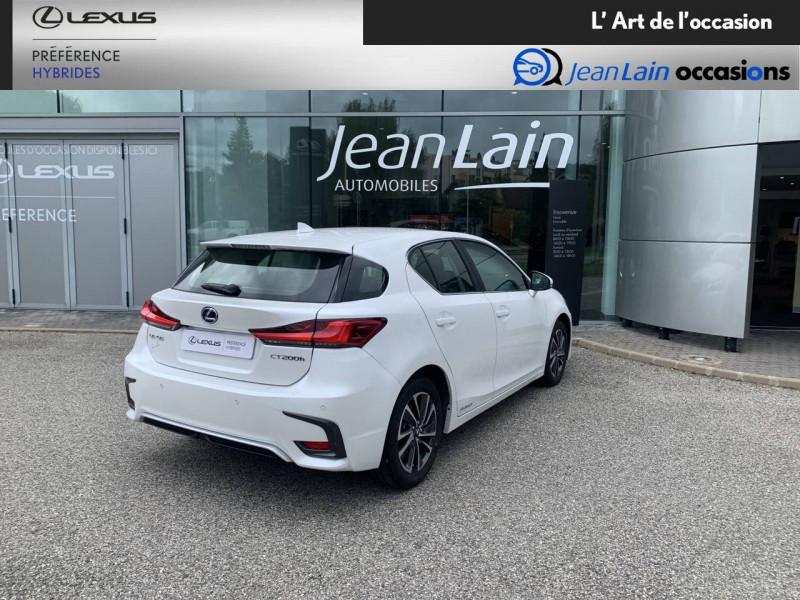 Lexus CT CT 200h Pack 5p Blanc occasion à Seyssinet-Pariset - photo n°5