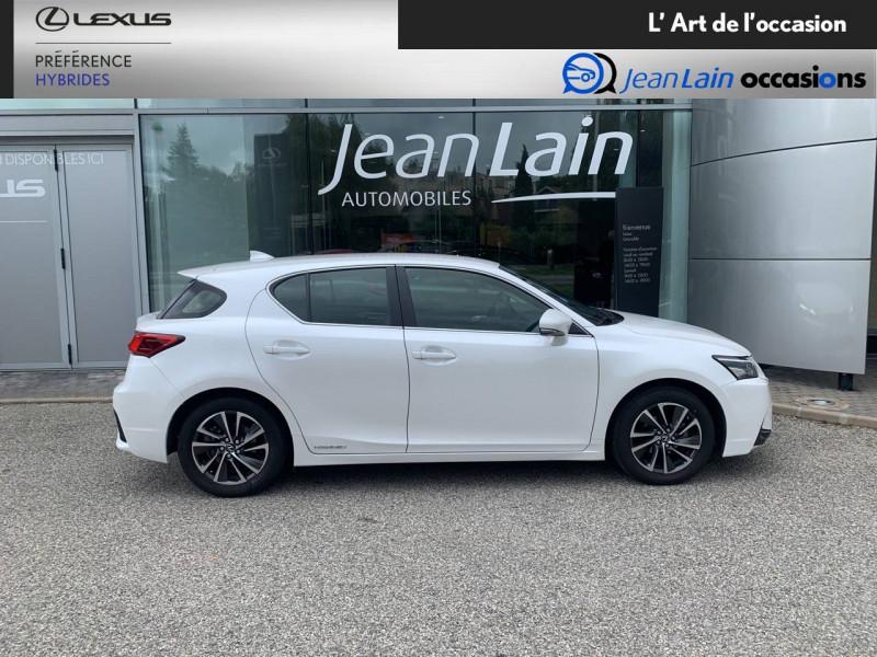 Lexus CT CT 200h Pack 5p Blanc occasion à Seyssinet-Pariset - photo n°4