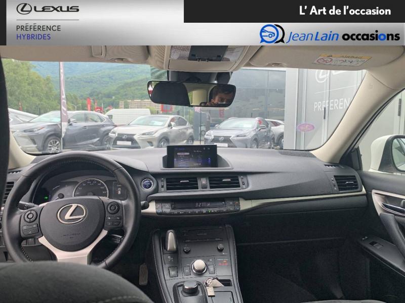 Lexus CT CT 200h Pack 5p Blanc occasion à Seyssinet-Pariset - photo n°18