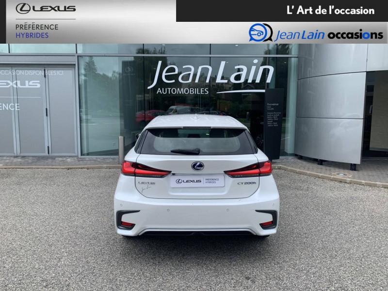 Lexus CT CT 200h Pack 5p Blanc occasion à Seyssinet-Pariset - photo n°6