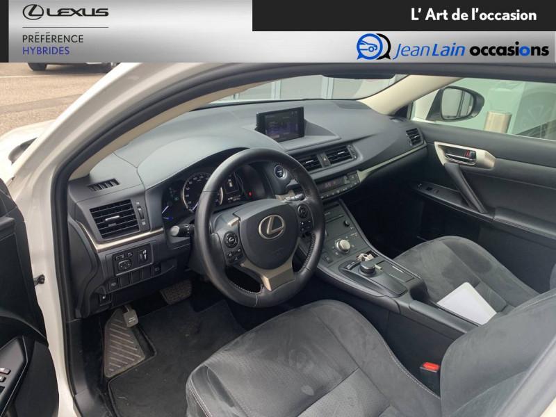 Lexus CT CT 200h Pack 5p Blanc occasion à Seyssinet-Pariset - photo n°11