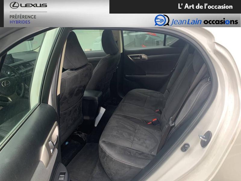Lexus CT CT 200h Pack 5p Blanc occasion à Seyssinet-Pariset - photo n°17