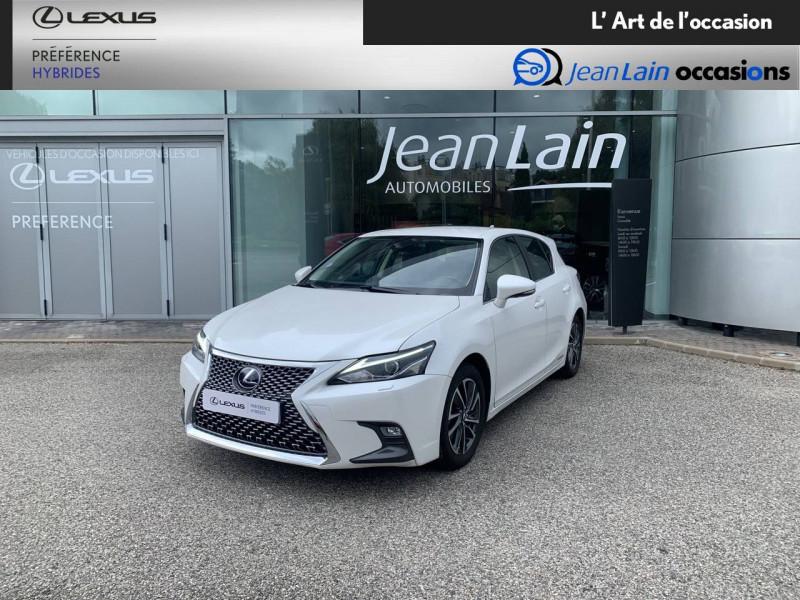 Lexus CT CT 200h Pack 5p Blanc occasion à Seyssinet-Pariset