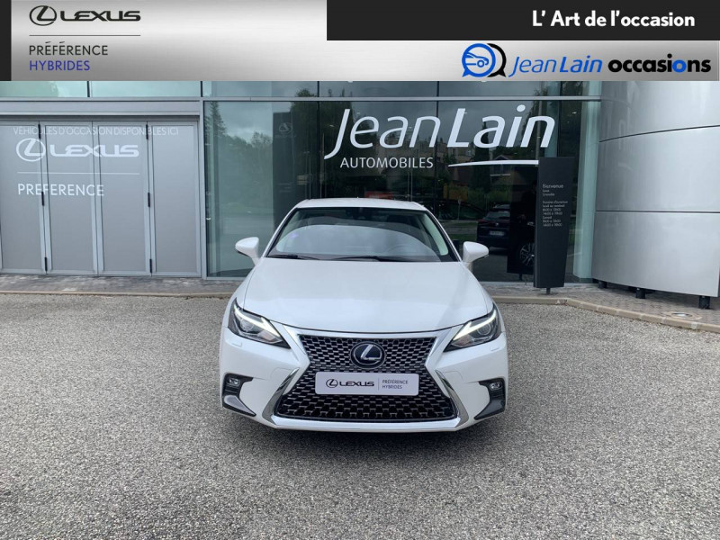 Lexus CT CT 200h Pack 5p Blanc occasion à Seyssinet-Pariset - photo n°2