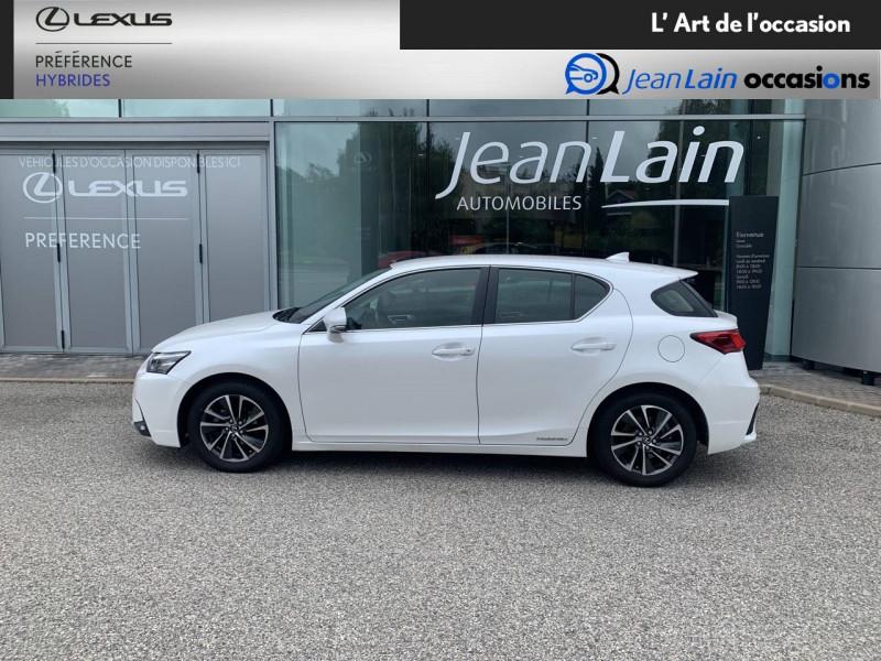 Lexus CT CT 200h Pack 5p Blanc occasion à Seyssinet-Pariset - photo n°8
