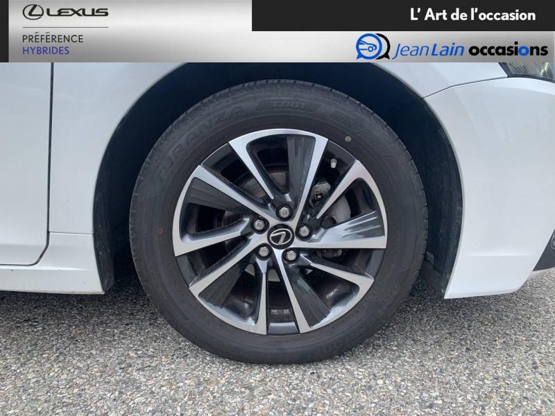 Lexus CT CT 200h Pack 5p Blanc occasion à Seyssinet-Pariset - photo n°9