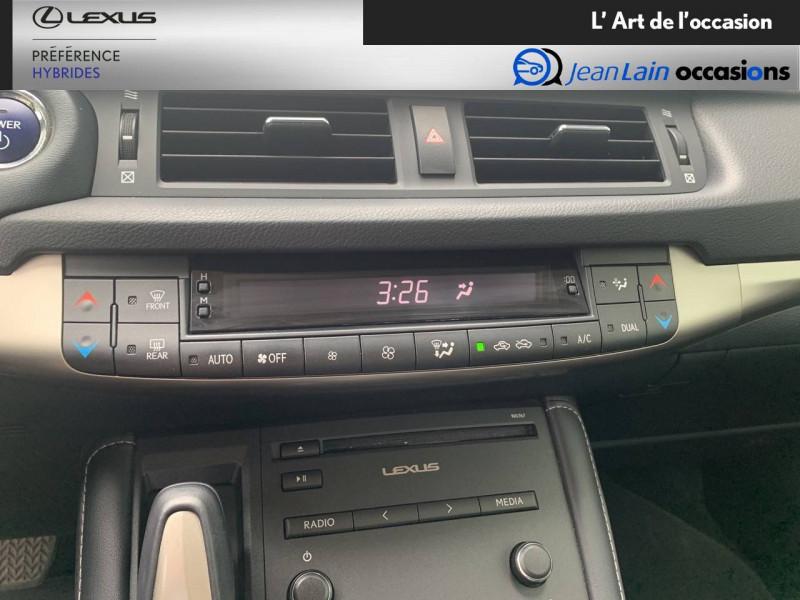 Lexus CT CT 200h Pack 5p Blanc occasion à Seyssinet-Pariset - photo n°14