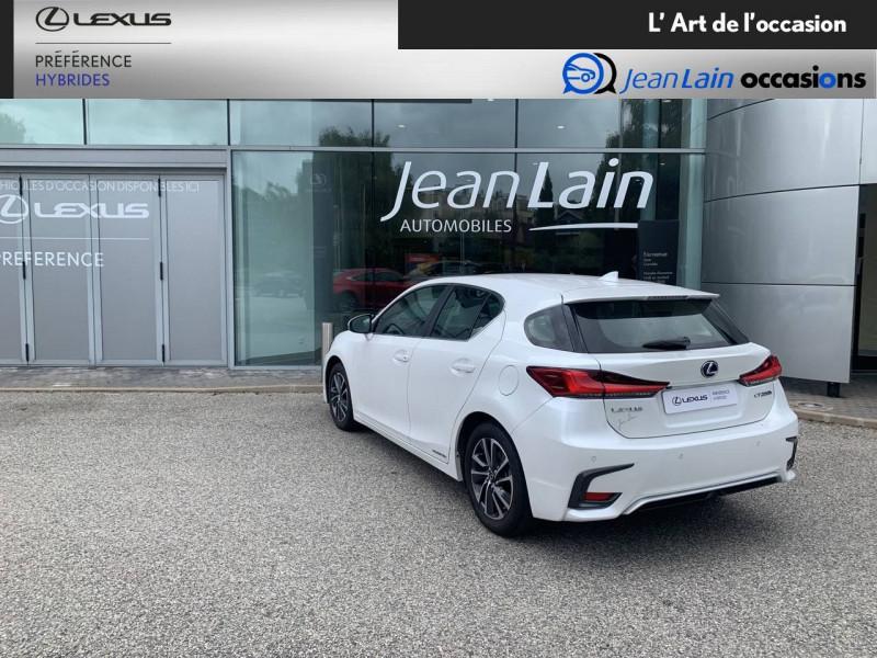 Lexus CT CT 200h Pack 5p Blanc occasion à Seyssinet-Pariset - photo n°7