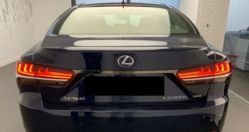 Lexus LS 500h F-Sport Bleu occasion à Montévrain - photo n°2