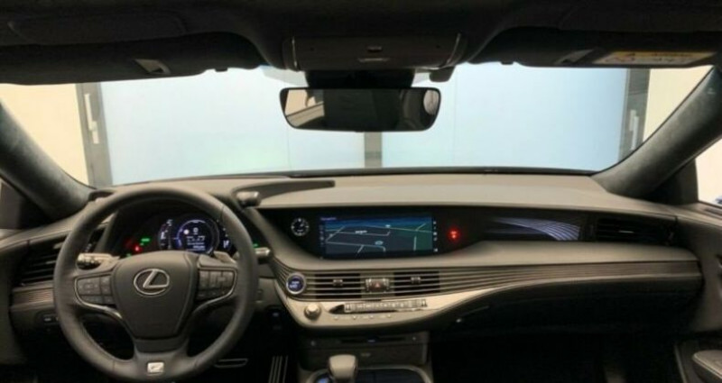 Lexus LS 500h F-Sport Bleu occasion à Montévrain - photo n°4