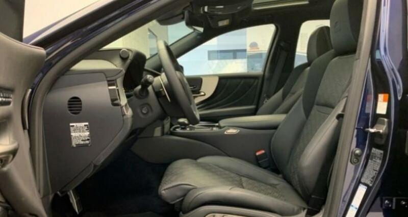 Lexus LS 500h F-Sport Bleu occasion à Montévrain - photo n°5