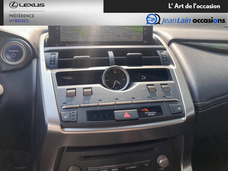 Lexus NX NX 300h 2WD Pack Business 5p Gris occasion à Seyssinet-Pariset - photo n°14