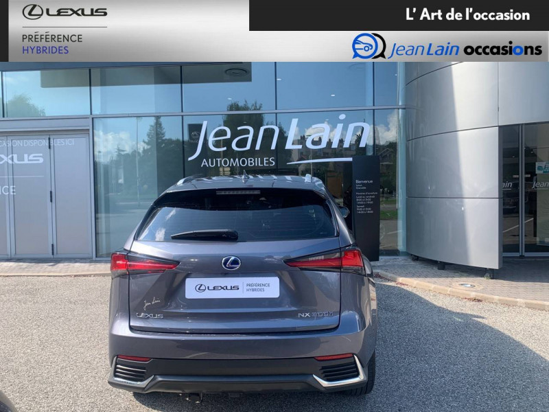Lexus NX NX 300h 2WD Pack Business 5p Gris occasion à Seyssinet-Pariset - photo n°6