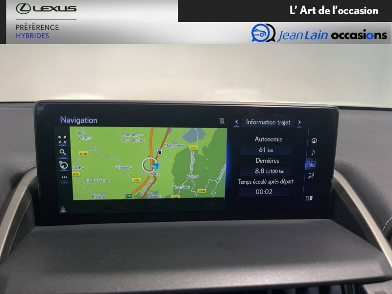 Lexus NX NX 300h 2WD Sport Edition 5p Gris occasion à Meythet - photo n°16